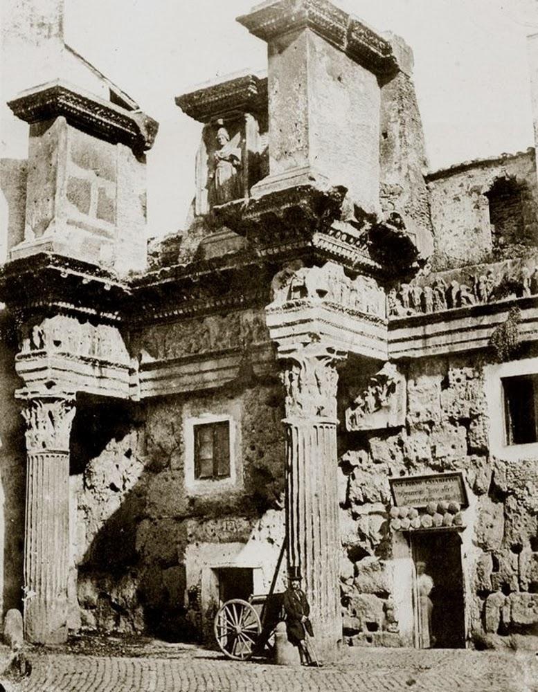 Le Colonnacce nel 1850