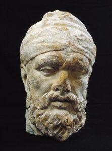 Testa di Dace dalla Basilica Ulpia (Museo dei Fori Imperiali)